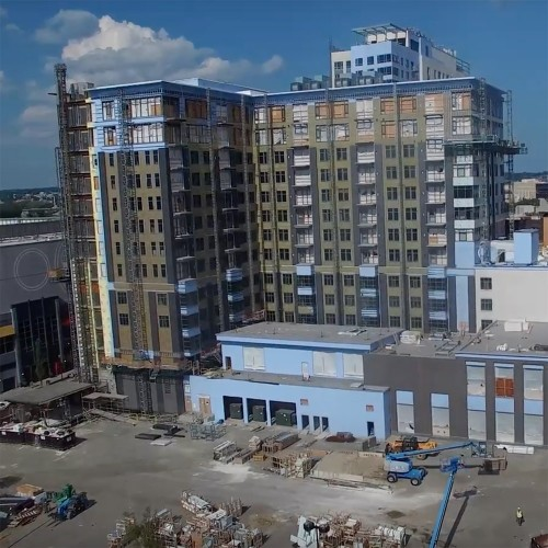 Assembly Row Mixed Use - Drone Video
