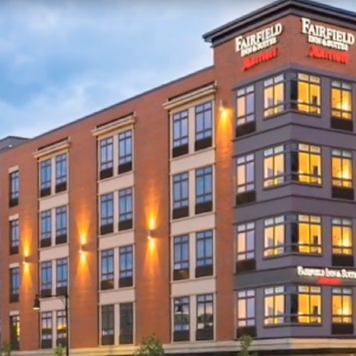 Fairfield Inn Cambridge MA ABC NH/VT Excellence in Construction Award