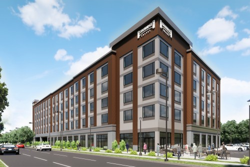 PROCON Nears Completion of 79,000 SF Dual-Branded Hotel, Revere MA