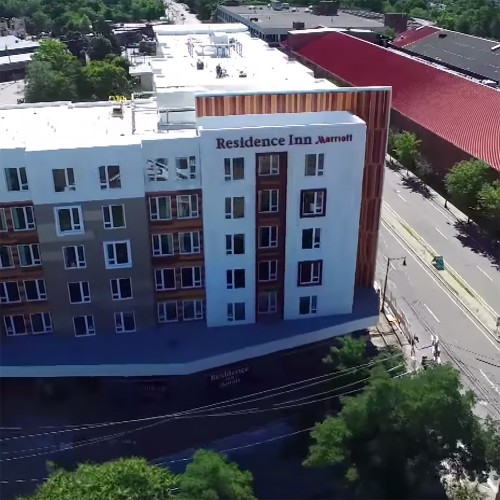 Residence Inn by Marriott - Watertown, MA - Drone Video