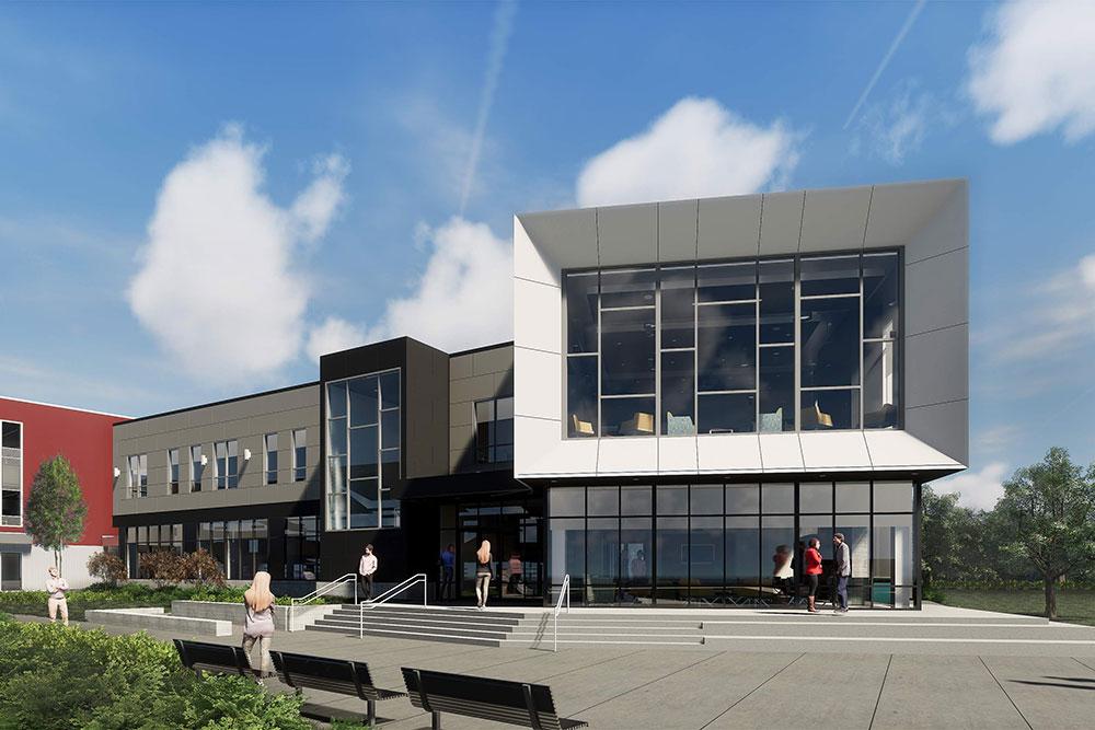 Merrimack College Breaks Ground On Arcidi Welcome Center Procon Inc